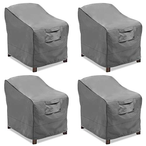Vailge Patio Chair Covers, Lounge Deep Seat Cover, Heavy Duty and Waterproof Outdoor Lawn Patio  ...