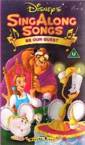 Sing Along Songs Be Our Guest Vhs Disney Amazon Co Uk Video
