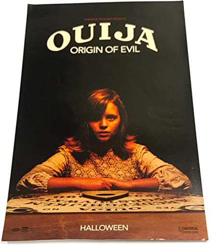 Universal Studios Ouija Origin of Evil Halloween Movie Horror Poster 11X17 -