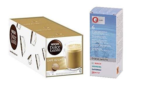 Dolce Gusto Café con Leche 48 cápsulas y 1 Descalcificador HG ...