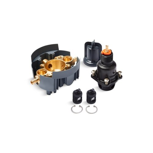 Kohler K-8304-PS-NA Kohler K-8304-PS-NA Valves Rite-Temp Valve Body & Pressure-Balance Cart. Kit with Service Stops & Pex Crimp Connections by Kohler