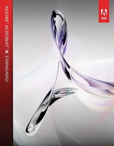 NEW - Adobe Acrobat X Standard (Windows 10/8/7)