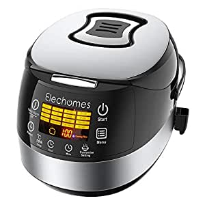 Amazon.com: Elechomes LED Touch Control Rice Cooker, 16-in
