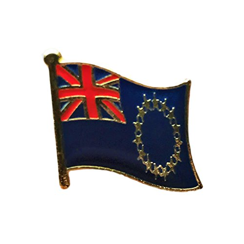 Backwoods Barnaby Cook Islands Flag Lapel Pin