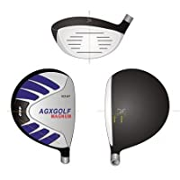 AGXGOLF Ladies Magnum 460cc Driver wLady Flex Graphite Shaft: Choose Loft: Petite, Regular or Tall + Head Cover Fast Shipping! Made in USA!