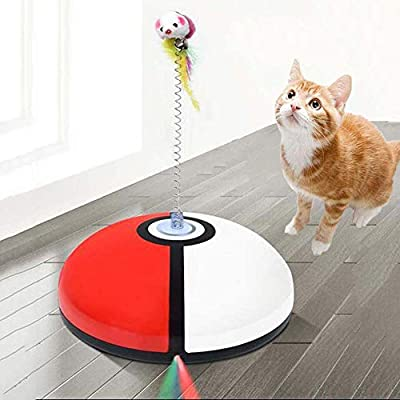 FXQIN Robot de Barrido Divertido Gato, máquina de depilación ...