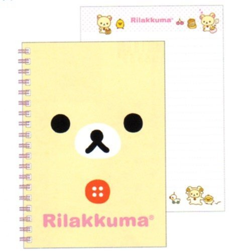 San-X Rilakkuma Spiral Notebook: Little Bear by San-X (Image #1)