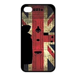 Sherlock - Hot TV Best Design TPU Case Protector For Iphone 4 4s iphone4s-90642