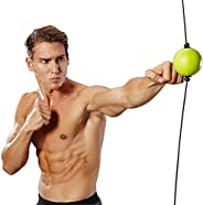 CMLLING Boxing Reflex Ball Speed Ball PU PunchTraining Fitness Sports Punching Speed Fight Skill and Hand Eye