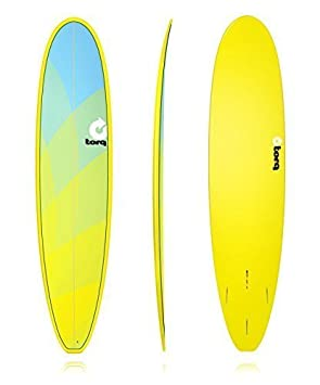 Tabla de Surf Torq epoxy 8.0 FUN tarjeta mini Malibu TwoTone by Torq