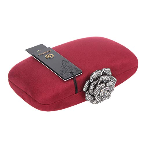 Bonjanvye S Femme Red Uk18109 Pochette Pour nqYwz78q