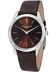 Stuhrling Original Mens 434.3315K59 Classic Ascot Swiss Quartz Ultra Slim Watch