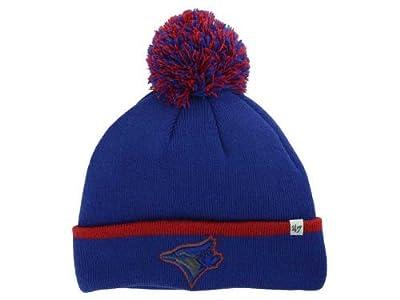 Toronto Blue Jays Knit Cuff Beanie w/ Pom Hat Cap