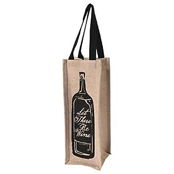 Juco - Bolsa para botellas de vino: Amazon.es: Hogar