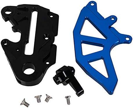 Rear Brake Caliper Support w//Brake Disc Guard Blue for Husqvarna TE 300 2014-2018