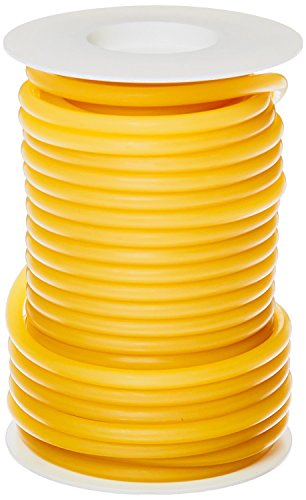 Pivit Flexible Seamless Natural Latex Rubber Band Tubing   3/8'' I.D. 5/8'' O.D. 1/8'' Wall Thickness   25ft One Continuous Length   Extreme Flexibility Durability & Elastic Stretch Memory   Made in USA by Pivit