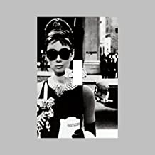 AUDREY HEPBURN BREAKFAST AT TIFFANYS- SINGLE Light Switch Plate / Cover