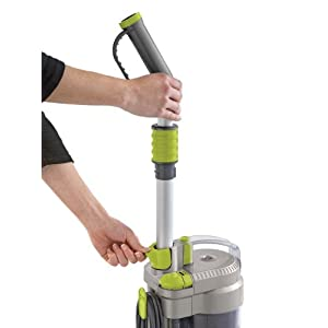 Hoover WindTunnel Air Bagless Upright Corded Lightweight Vacuum Cleaner - making adjustment