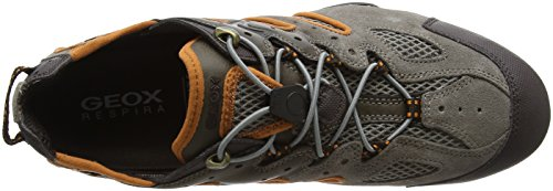 Snake Geox Top Low Grau Taupe Orange Herren J Lt Uomo 4wqEgxfE7