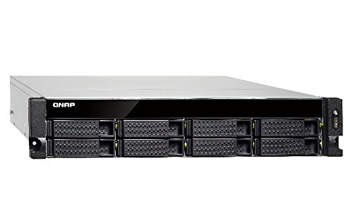 Qnap TS-831XU-4G-US 8-Bay ARM-based 10G NAS, Quad Core 1.7GHz, 4GB DDR3 RAM, 2 x 10GbE SFP+, 2 x GbE, Single Power Supply by QNAP (Image #4)'