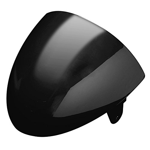 Alamor Motorcycle ABS Rear Seat Cowl Cover Universal For Cafe Racer Compartment Seat - Bright Black: Amazon.co.uk: Kitchen & Home
