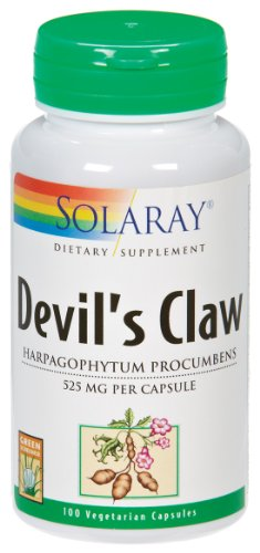 Solaray - Griffe du diable, 525 mg, 100 capsules