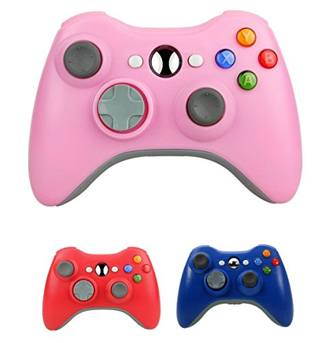 Controller Game Pad Color for Xbox 360 (Pink) ()