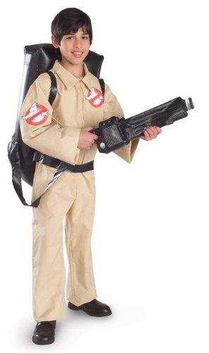 Ghostbusters Costume, Large (Costume For 11 Year Old Boy)