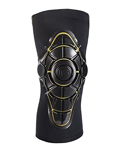 G-Form Youth Pro-X Knee Pad, Black/Yellow, Small/Medium