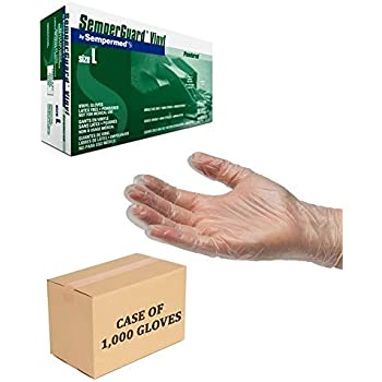Vinyl 4.2mil Powder Free Gloves -Size Large (Case of 1000)