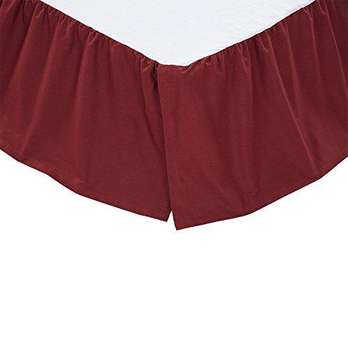 quilted bedskirt queen - 8