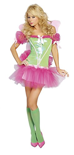 [Rainbow Sprite - Womens Fairy Sexy Halloween Costumes] (Sexy Fairy Halloween Costumes)