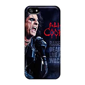 Protective Hard Phone Case For Iphone 5/5s With Provide Private Custom High Resolution Rolling Stones Pattern KellyLast