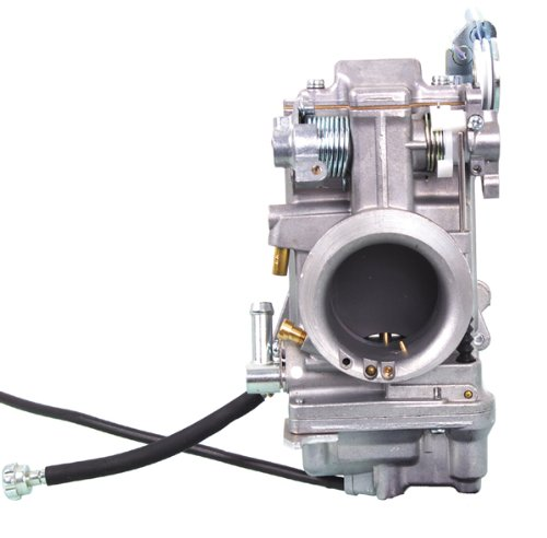 Mikuni Non-Polished HSR45 Smoothbore Carburetor (only) for 1960-1999 Harley Dav