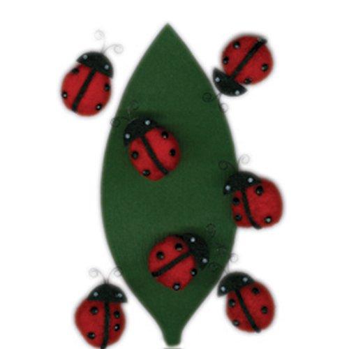 Martha Stewart Crafts Stickers, Dimensional Ladybug Pom Pom -