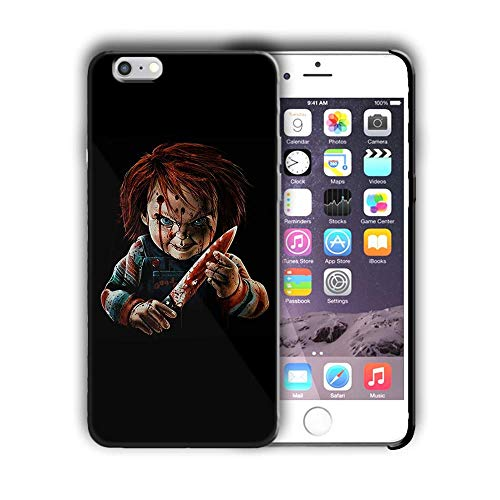 FATS TPU Case Cover with Curse of Chucky Design Compatible with iPhone 5 5s SE (hall13) -