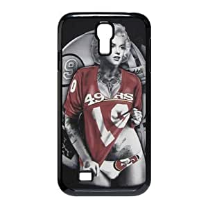 Marilyn Monroe San Francisco 49ers Customized Case for SamSung Galaxy S4 I9500