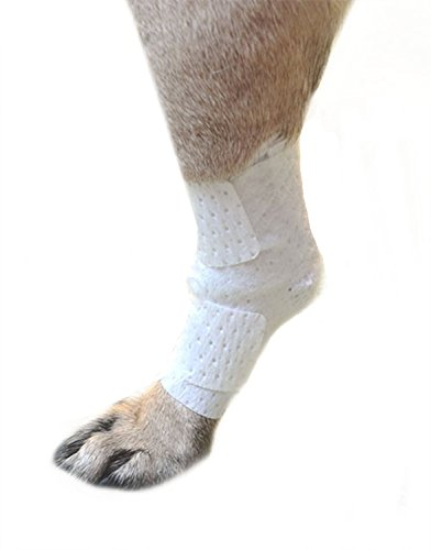 Pawflex Bandages Universal Joint Bandages for Pets (Pack of 4) Small