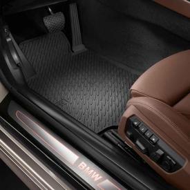Genuine BMW 6 Series All Weather Rubber Floor - Bmw 650i Floor Mats