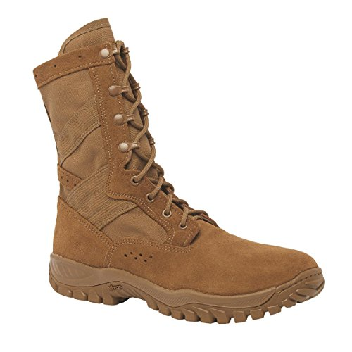 Belleville One xero C320 Coyote Brown Ultra Light Assault Boot, Made In USA, 8