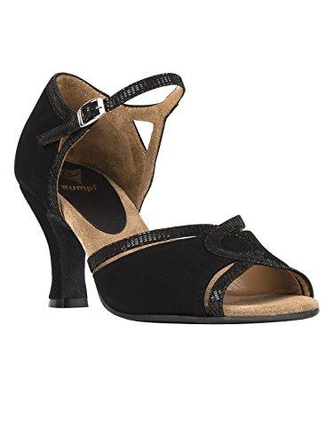Rumpf–Zapatillas de mujer, ante negro