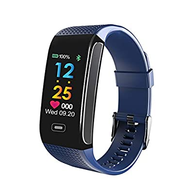 GXX PO Color Screen Fitness Tracker Fitness Activity Tracker With Heart Rate Blood Pressure Monitor Smart Wristband Step Calorie Counter Exercise Pedometer For Women Men Sport Watches Estimated Price -