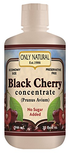 Only Natural Organic Black cherry Concentrates, 32-Ounce