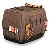 Cheap Mud River Dixie Insulated Kennel Cover, Brown, XL