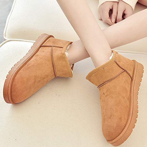 Bottines Hiver Chaude Cheville Boots Chaussures Bottes Neige De Chameau Femme Doublure gRqCwS