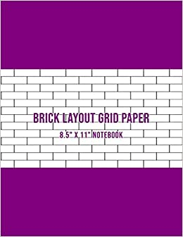 Brick Layout Grid Paper Use For Beadwork Pattern And Embroidery
