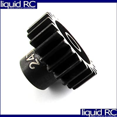Hot Racing NSG3224 24T Steel 32P Pinion Gear: Toys & Games