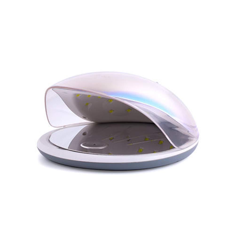 19 Secador de clavos de 36 vatios configuración del temporizador 60S y sensor automático 22 8cm luz blanca de la máquina UV profesional de la lámpara del clavo LED con 30S