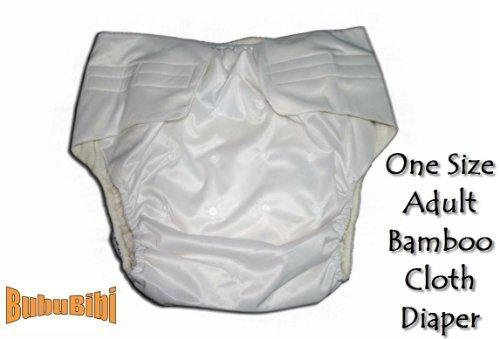 BubuBibi Adjustable Reusable/Washable BAMBOO ADULT Cloth ...