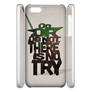 Personalized Durable Cases iphone6 4.7 3D Cell Phone Case White Do or do not There is no try Zqumt Protection Cover